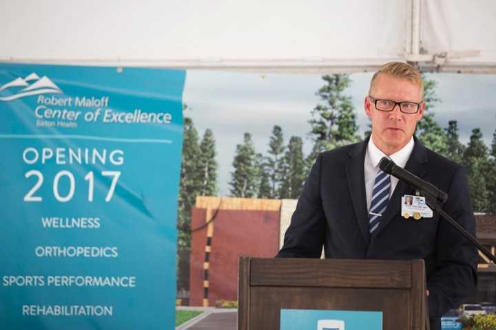 Chris Proctor, PT, Administrative Director of Barton Health's Tahoe Center for Orthopedics
