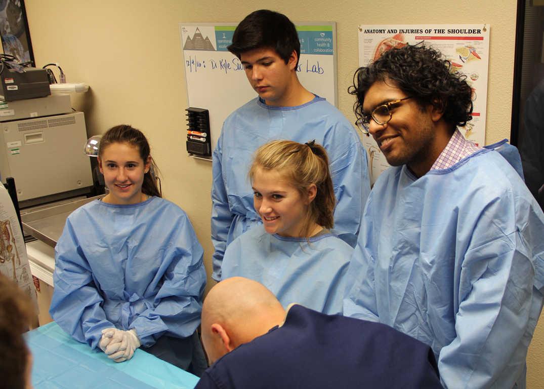 Lake Tahoe Sports Medicine   Surgical Skills Lab