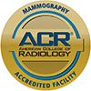 American College of Radiology Seal: Mammography Accredited Facility