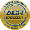 American College of Radiology Seal: CT Accredited Facility