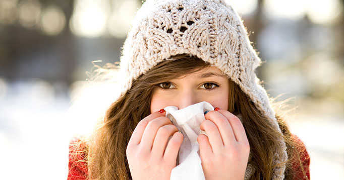 Prevent influenza from spreading - cover your cough and wash your hands
