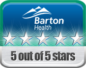 Barton Health Five-Star Quality Rating