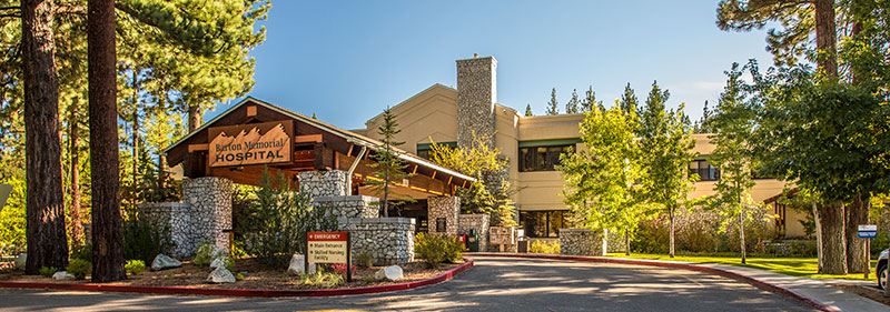 Barton Memorial Hospital in South Lake Tahoe provides high-quality medical care in a hospital setting.