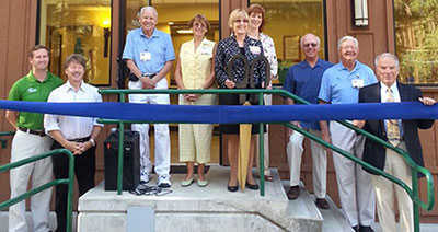 Barton Cuts Ribbon After 50-Years