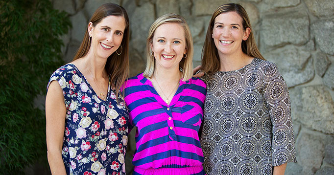 Dr. Megan Jewell, Dr. Amanda Weavil, Dr. Clare Rudolph