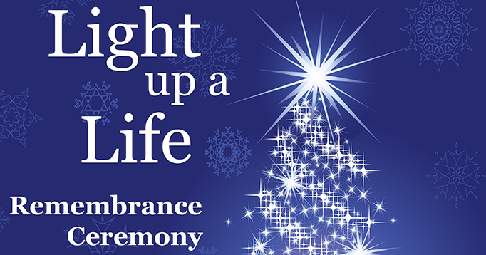 Barton Hospice Light Up a Life Tree of Remembrance